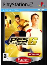 Konami PES 6 Pro Evolution Soccer (PS2)