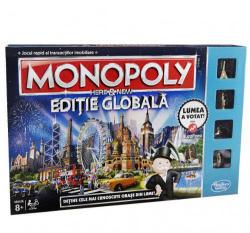 Hasbro Monopoly Here & Now - Editie Globala
