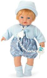 Falca Toys Síró baba kék ruhában - 35 cm