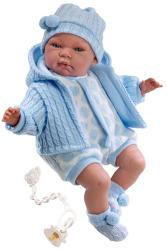 Llorens Újszülött síró fiú baba - 40 cm