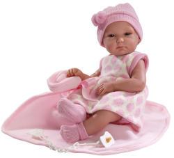 Llorens Újszülött kislány baba - 35 cm