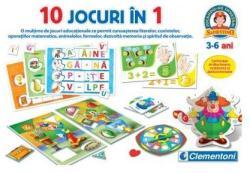 Clementoni 10 Jocuri in 1 (CL60345)