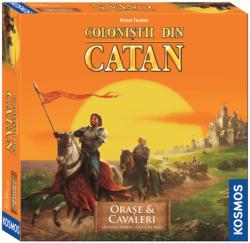 Kosmos Colonistii din Catan - Extensie Orase si Cavaleri 3-4 Jucatori