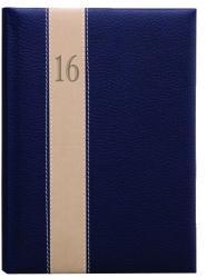 TopTimer Fashion zsebnaptár, álló elrendezésű, kék-bézs-kék (NKF035KBEK)