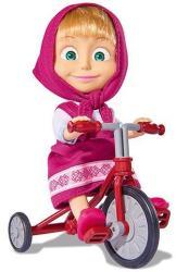 Simba Toys Mása és a medve - Mása baba triciklivel