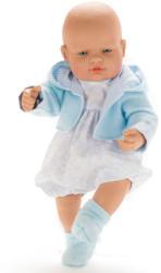 Falca Toys Bebe in hainuta albastra 42cm (45450)