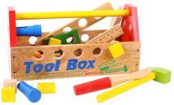 Bigjigs Toys Fa szerszámos láda fa szerszámokkal BJ302