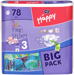 Bella Happy Midi Big Pack (5-9kg) 78db