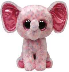 TY Inc Beanie Boos: Ellie - Baby elefant roz 15cm (TY36728)