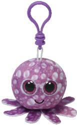 TY Inc Beanie Boos Clip: Legs - Baby caracatita mov 8.5cm (TY33002)