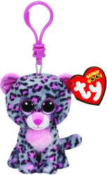 TY Inc Beanie Boos Clip: Glamour - Leopard gri-roz 8,5cm (TY36616)