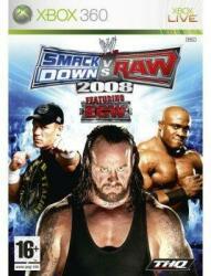 THQ WWE SmackDown vs Raw 2008 (Xbox 360)