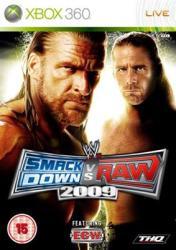 THQ WWE SmackDown vs Raw 2009 (Xbox 360)