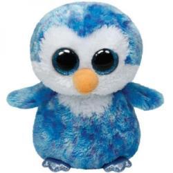 TY Inc Beanie Boos: Ice Cube - Baby pinguin albastru 15cm (TY36741)