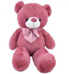 Mappy Fluffy Friends - Rózsaszín maci 80cm