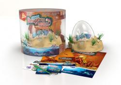 World Alive Aqua Dragon Jurassic Time Travel - EggScavation dinoszaurusz keltető