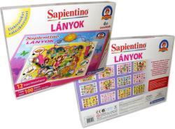 Clementoni Sapientino lányok - oktató, fejlesztő játék kislányoknak