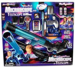 Micro Science Csillagászati teleszkóp és mikroszkóp készlet (4029)