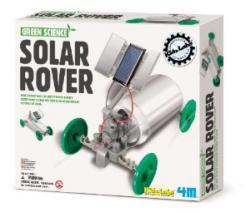 4M Kidz Labs - Green Science - Solar Rover napelemes autó - kreatív készlet (05047)