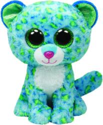 TY Inc Beanie Boos: Leona - Baby leopard albastru 15cm (TY36742)