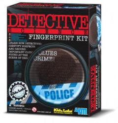 4M Kidz Labs - Detektív szett, ujjlenyomat készítő