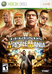 THQ WWE Legends of Wrestlemania (Xbox 360)