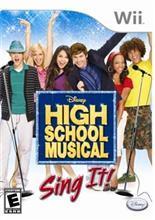 Disney High School Musical Sing It! (Wii)