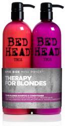 TIGI Bed Head Dumb Blonde Duo sampon+kondicionáló 750ml+750ml