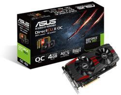 ASUS GeForce GTX 960 OC 4GB GDDR5 128bit PCIe (GTX960-DC2OC-4GD5-BLACK)
