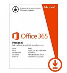 Microsoft Office 365 Personal 32/64bit Multilanguage (1 User/1 Year) QQ2-00012