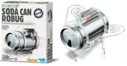 4M Kidz Labs - Green Science - Robogár tudományos kreatív készlet (00-03266)