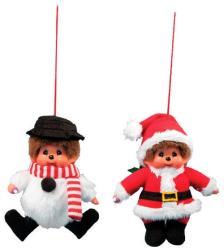Sekiguchi Karácsonyi mintás Monchhichi