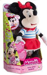 iMC Toys Disney Minnie Kiss Kiss pusziküldős plüssfigura