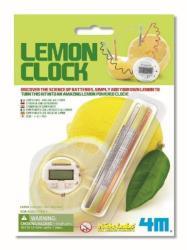 4M Kidz Labs - Citrom óra - összeállítható tudományos szett