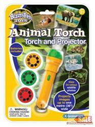 Brainstorm Animal Torch - Állatvilágos lámpa és kivetítő (E2012)