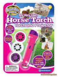 Brainstorm Horse Torch - Lovas lámpa és kivetítő (E2022)