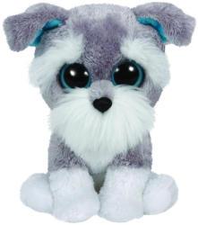 TY Inc Beanie Boos: Whiskers - Baby schnauzer gri 24cm (TY37037)