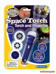 Brainstorm Space Torch - Világűr lámpa és kivetítő (E2008)