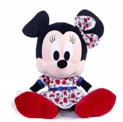 Disney I Love Minnie in rochita rosie cu flori 25cm (1200171)