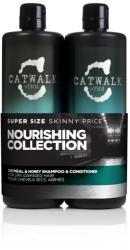 TIGI Catwalk Oatmeal Honey Duo sampon+kondícionáló 750ml+750ml