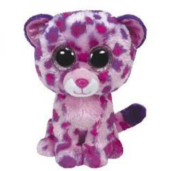 TY Inc Beanie Boos: Glamour - Baby leopard mov-roz 15cm (TY36085)