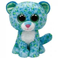 TY Inc Beanie Boos: Leona - Baby leopard albastru 24cm (TY34102)
