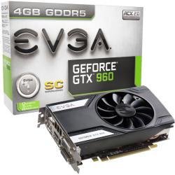 EVGA GeForce GTX 960 SC GAMING 4GB GDDR5 128bit PCI-E (04G-P4-1962-KR)