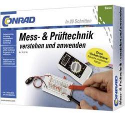 Conrad Mérés- és ellenőrzéstechnikai alap oktatócsomag (10091)