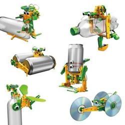 Powerplus Solar Recycler 6 az 1-ben napelemes újrahasznosított játék (O-1252)