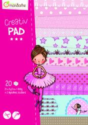 Avenue Mandarine Creativ Pad balerina kreatív szett