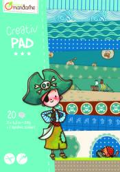Avenue Mandarine Creativ Pad kalóz kreatív szett
