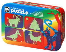 Puli Puzzle Puli Mágneses kirakó - Kos és barátai