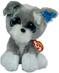 TY Inc Beanie Boos - Whiskers, a schnauzer 15cm (TY36150)