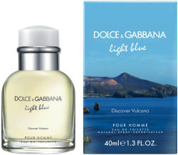 Dolce&Gabbana Light Blue Discover Vulcano pour Homme EDT 40ml